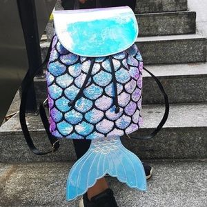 Handbags - Mermaid backpack rave costume festival Ariel edc